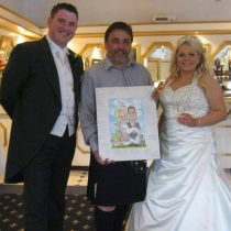 The Kilted Caricaturist Homepage Wedding 2 square