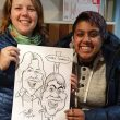 Caricatures at a Live Event 18